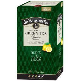 Sir Winston Tea čaj SUPERIOR GREEN TEA LEMON