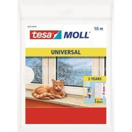Tesamoll Pěnové těsnění, na okna a dveře bílé, 9mm x 6mm,