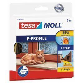 Tesamoll Gumové těsnění hnědé, na okna a dveře, P profil,
