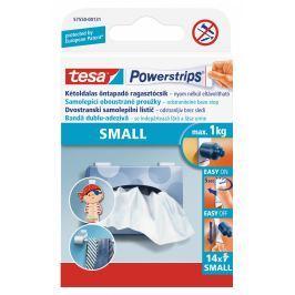Tesa Powerstrips malé oboustranné proužky na připevňování 14ks
