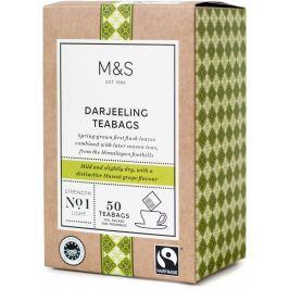 Marks & Spencer Darjeeling čaj v nálevových sáčcích