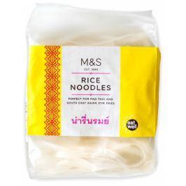 Marks & Spencer Thajské širší rýžové nudle
