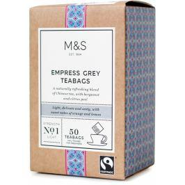 Marks & Spencer Empress Earl Grey v nálevových sáčcích