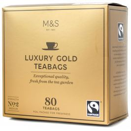 Marks & Spencer Porcovaný čaj Luxury Gold