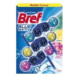 Bref Blue Aktiv Mix 3x50g