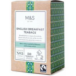 Marks & Spencer Černý čaj English Breakfast