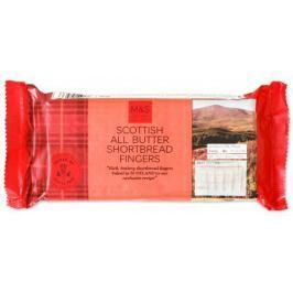 Marks & Spencer Skotské máslové sušenky - tyčinky