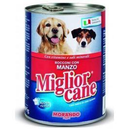 Migliorcane konzerva pro psy hovězí