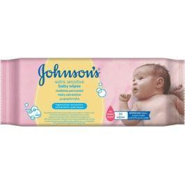 Johnson's Baby Extra Sensitivedětské vlhčené ubrousky 56 ks
