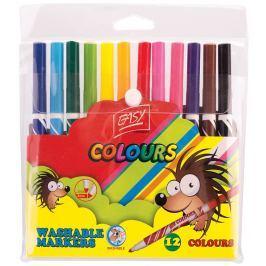 EASY Colours Vypratelné fixy 12 barev