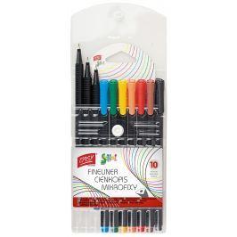 EASY Liner Trojhranné mikrofixy 10 barev