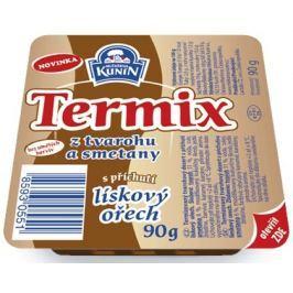Mlékárna Kunín Termix s příchutí lískový ořech