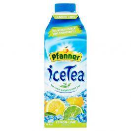 Pfanner Ice Tea s příchutí citrón-limetka