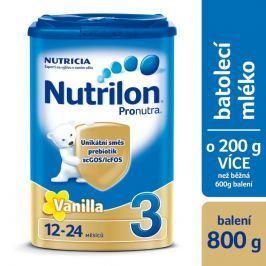 Nutrilon 3 Pronutra Vanilka