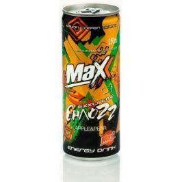 Maxx Sycený energetický nápoj s příchutí jablka a hrušky