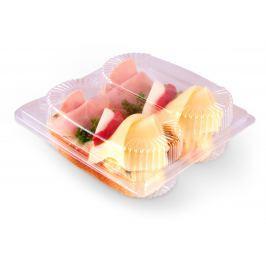 Chlebíček se sýrem a šunkou 2ks (2x105g)