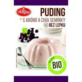 Amylon BIO puding s aronií a chia semínky