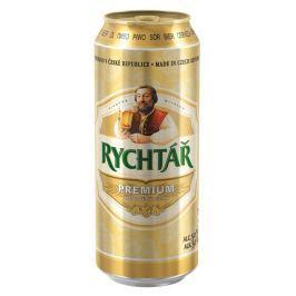 Rychtář Premium světlý ležák pivo plech