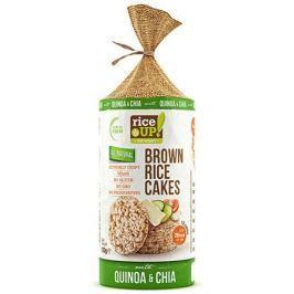 Rice Up Celozrnné rýžové chlebíčky - s chia a Quinoa