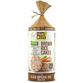 Rice Up Celozrnné rýžové chlebíčky - s černou rýží, nesolené