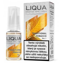 Liqua Traditional Tobacco 18mg CZ