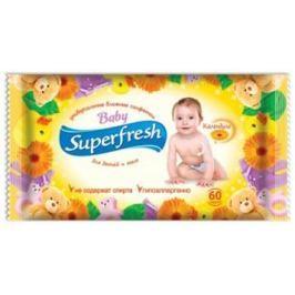Superfresh Baby vlhčené ubrousky 60ks
