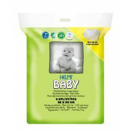 Helmi Baby přebalovací podložka 58x60cm, 6ks