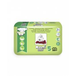 Muumi Baby eko dětské plenky Maxi+ 10-16kg (velikost 4+) 22ks
