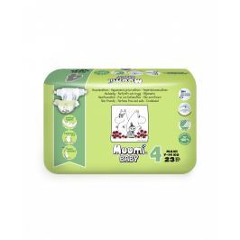 Muumi Baby ekologické dětské pleny MAXI 7-14kg, velikost 4, 23ks