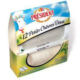 Président 12Petits Chevres Doux 200g