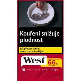 West Red cigaretový tabák