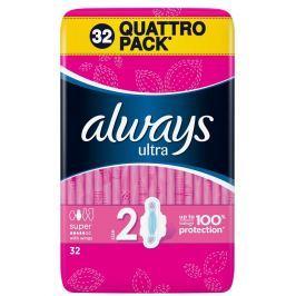 Always Ultra super plus hygienické vložky 32 ks