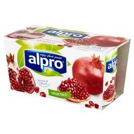 Alpro Fresh Sójová alternativa jogurtu granátové jablko 2x125g
