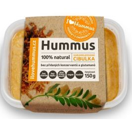 I love Hummus Hummus s karamelizovanou cibulkou