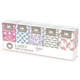 Harmony Ladie's papírové kapesníky 3vrstvé parfémované 10x10ks