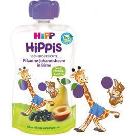 HiPP BIO 100% ovoce Hruška-Černý rybíz-Švestka