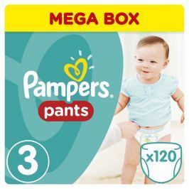 Pampers Pants kalhotkové plenky 6-11kg Midi Mega Box (velikost 3) 120ks