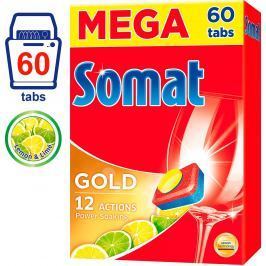 Somat Gold Lemon&Lime tablety do myčky 60ks