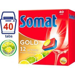 Somat Gold Lemon&Lime tablety do myčky 40ks