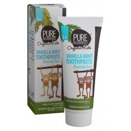 Pure Beginnings Zubní pasta bez fluoridů vanilkovo-mátová