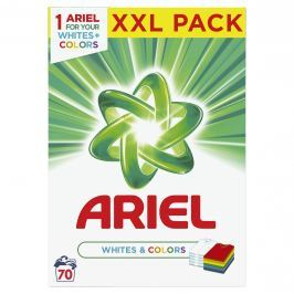 Ariel White and Colors prací prášek BOX (5,25kg)