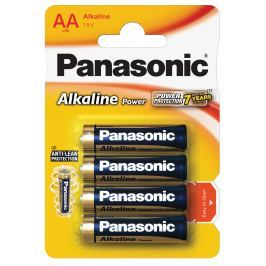 Panasonic Alkaline Power baterie AA 4ks