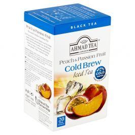 Ahmad Tea Cold Brew Černý čaj aromatizovaný broskev a passion fruit (20x2g)