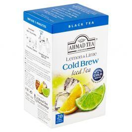 Ahmad Tea Cold Brew Černý čaj aromatizovaný citron a limetka (20x2g)