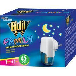 Biolit elektrický odpařovač tekutý Family 45 nocí