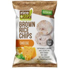Rice Up Celozrnné rýžové chipsy - s příchutí sýru