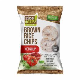 Rice Up Celozrnné rýžové chipsy - s příchutí kečupu