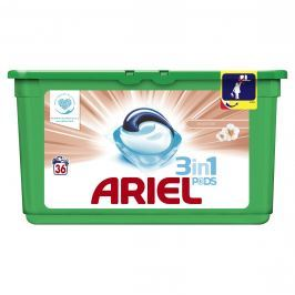 Ariel Sensitive prací kapsle 36ks