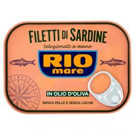 Rio Mare filety sardinek v olivovém oleji