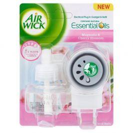 Airwick Essential Oils magnolie a květy třešní strojek + náplň